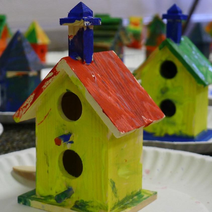 Mini Makers: March Birdhouses