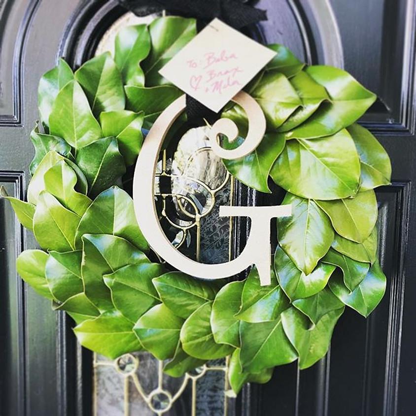 Magnolia Wreath Class