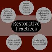 Using restorative practices to create a positive school culture