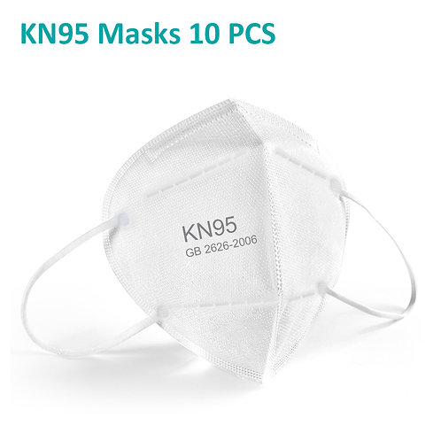 KN95 Face Masks, Disposable Protective Mask, 10 PCS
