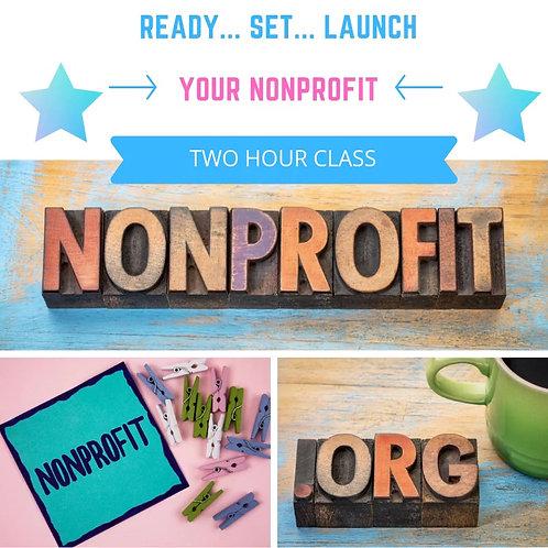 Ready... Set... Launch your nonprofit