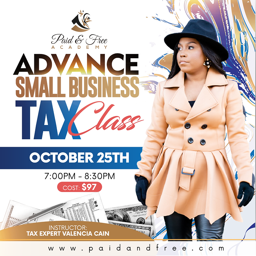 Advance Small Business Tax Class