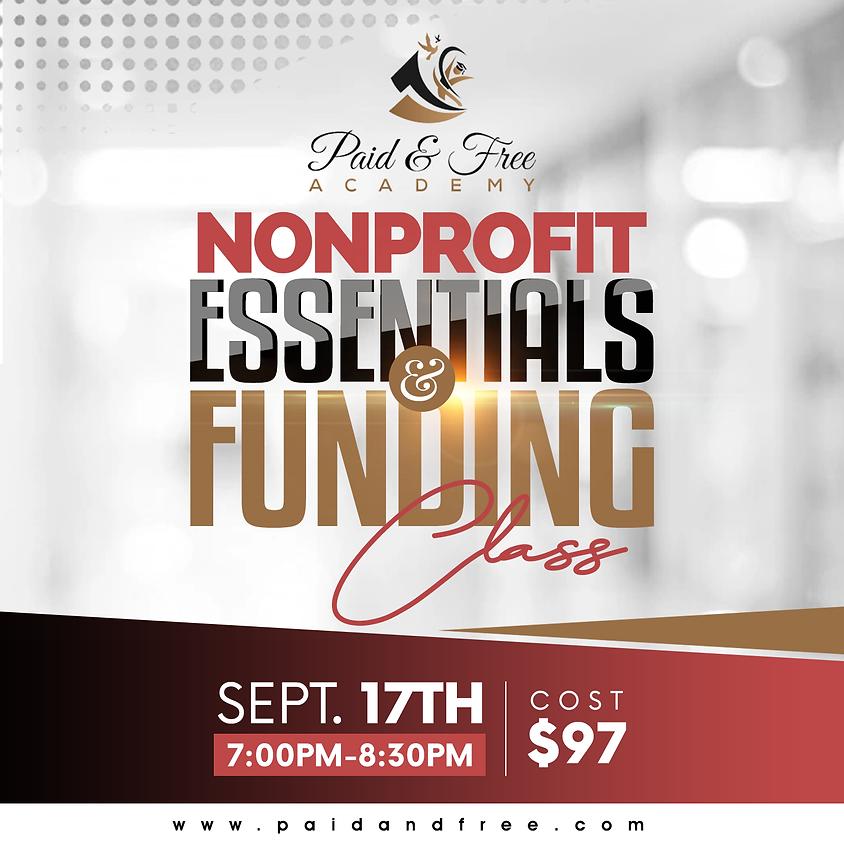 Nonprofit Essentials & Funding Class