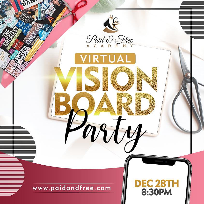 FREE Virtual Vision Board Party