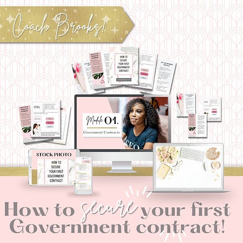 How to Secure Your First Government Contract