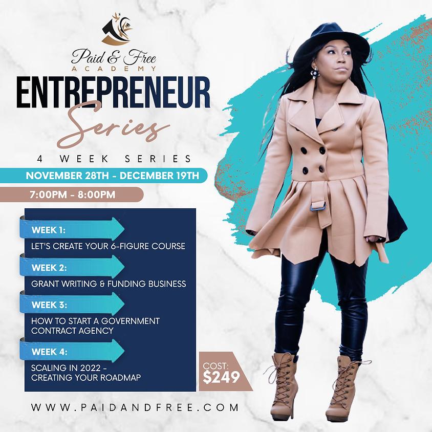 Annual Entrepreneur 2021 Series