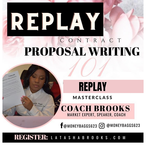 Replay -Contract Proposal Writing