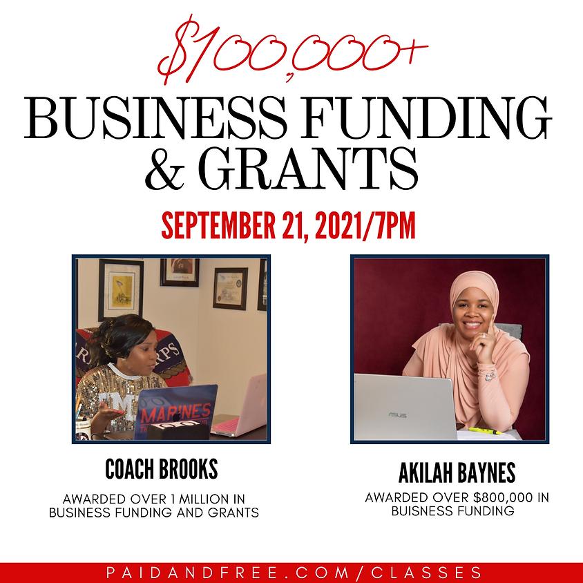 Business Credit & Grants