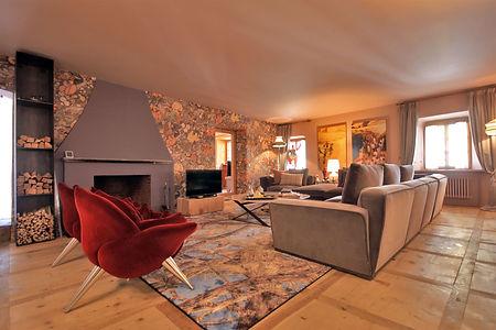 PONTRESINA_CHESA SARAZENA _ Living Room