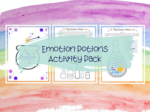Emotion Potions Activity Pack