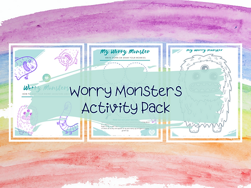 Worry Monsters Activity Pack
