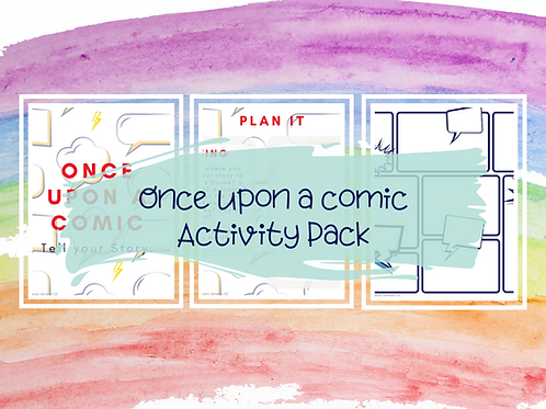 Once upon a Comic Activity Pack