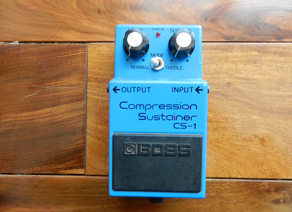 1981 Boss CS-1 Compression Sustainer