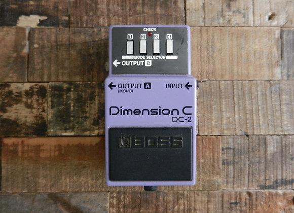 Boss DC-2 Dimension C Chorus (blue label)