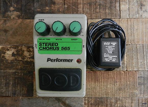 DOD Performer 565 Stereo Chorus (w/ adapter)