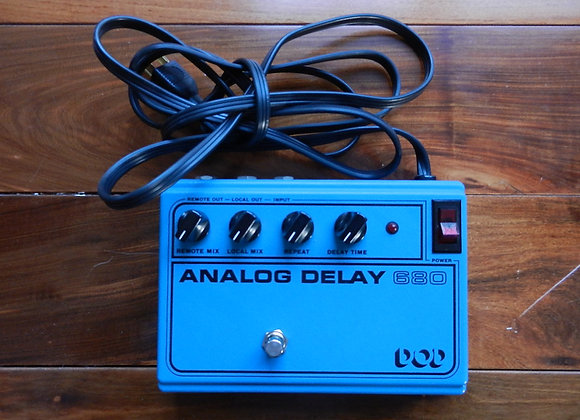 1980 DOD 680 Analog Delay RETICON SAD4096