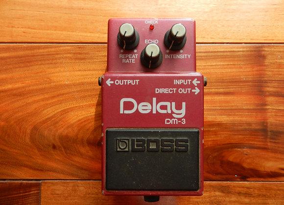 1985 Boss DM-3 Delay (green label)