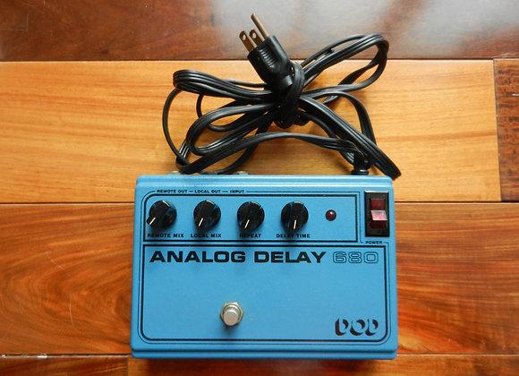 1981 DOD 680 Analog Delay RETICON SAD4096