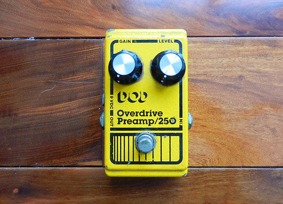 DOD Overdrive/Preamp 250 w/ LF351N chip
