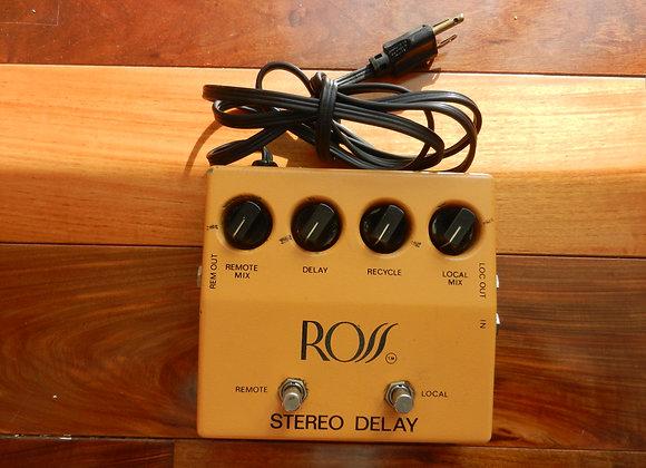 1978 ROSS Stereo Delay RETICON SAD1024