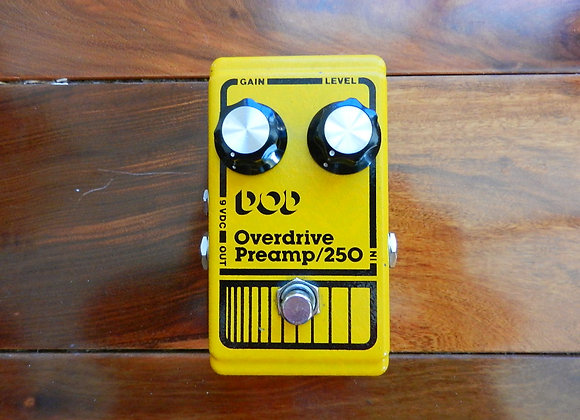 DOD Overdrive/Preamp 250 w/ UA741CP chip