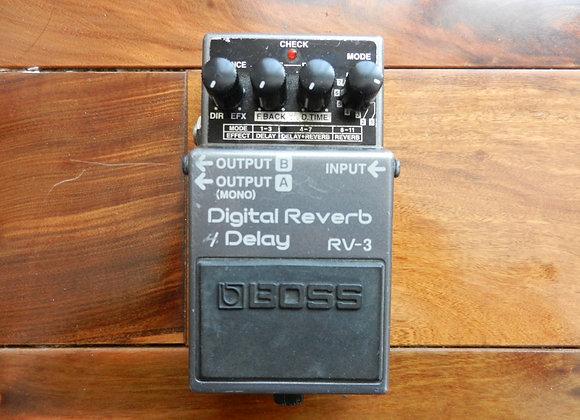 Boss RV-3 Digital Reverb/Delay (pink label)