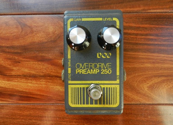 DOD Overdrive/Preamp 250 w/ LM741CN chip