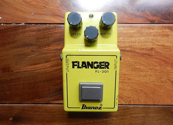 1981 Ibanez FL-301 Flanger (black label)