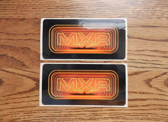 RARE MXR Stickers (set of 2)