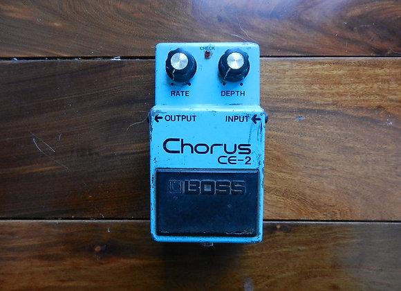 1980 Boss CE-2 Chorus (long-dash/silver screw)