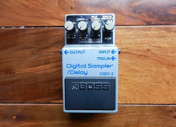 1985 Boss DSD-2 Digital Sampler/Delay (blue label)