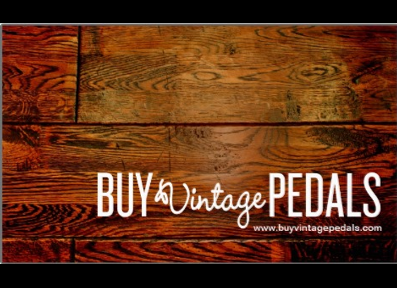 Buy Vintage Pedals Pedalboard Sticker