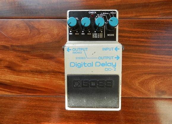 1985 Boss DD-2 Delay (blue label)