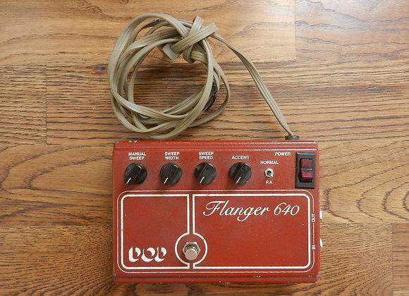 DOD 640 Flanger (script/grey cord)