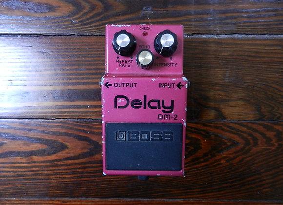 RARE 1982 Boss DM-2 Delay MN3005