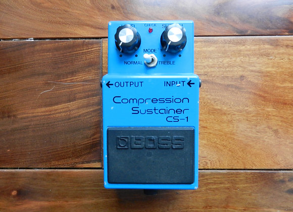 1981 Boss CS-1 Compression Sustainer