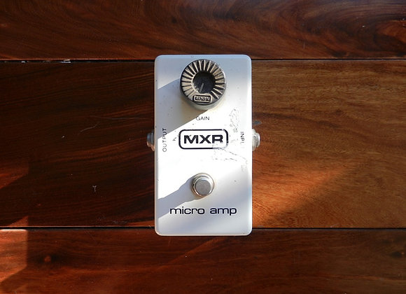 1981 MXR Micro Amp