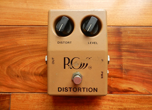 1980 ROSS Distortion