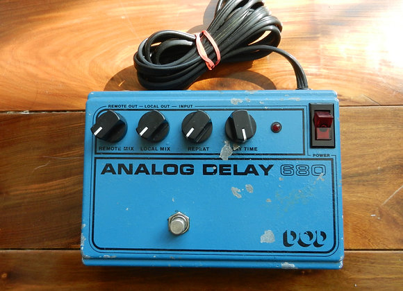 1981 DOD 680 Analog Delay RETICON SAD4096