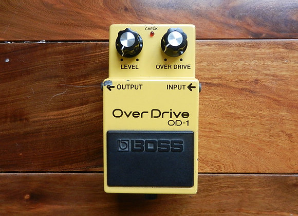 RARE 1983 Boss OD-1 Overdrive w/ NEC C4558C chip