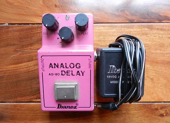 Ibanez AD-80 Delay MN3005 w/original power supply)