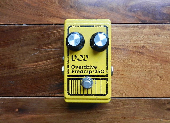 DOD Overdrive/Preamp 250 w/ TL081CP chip