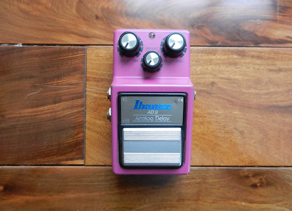 1982 Ibanez AD9 Analog Delay MN3205 (silver label)