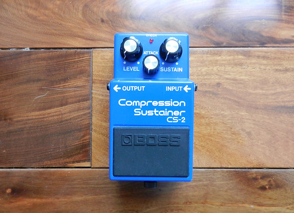 1986 Boss CS-2 Compression/Sustainer