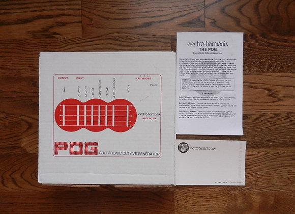 EHX POG Box, Manual & Warranty Card