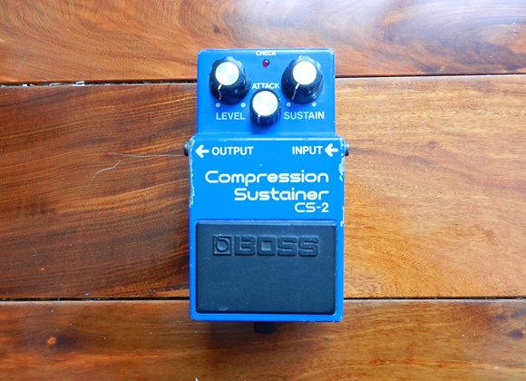 1985 Boss CS-2 Compression/Sustainer