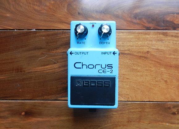 Boss CE-2 Chorus long dash