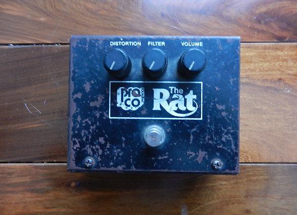 1982 ProCo The Rat v2 (Filter) LM308N chip