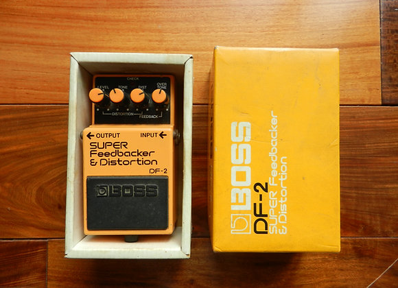 1985 Boss DF-2 Super Feedbacker & Distortion