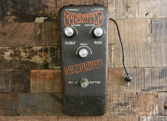 RARE 1970s Colorsound Solasound Overdriver